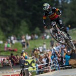 Race action from the IXS Innsbruck Downhill presented by Reifeissen Club.  Credit: Fraser Britton / Crankworx 2018