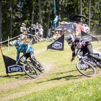 LORON AND HINES PUSH TO THE TOP IN ROCKSHOX INNSBRUCK PUMP TRACK CHALLENGE