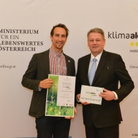 ITS receives klimaaktiv mobil project partner award