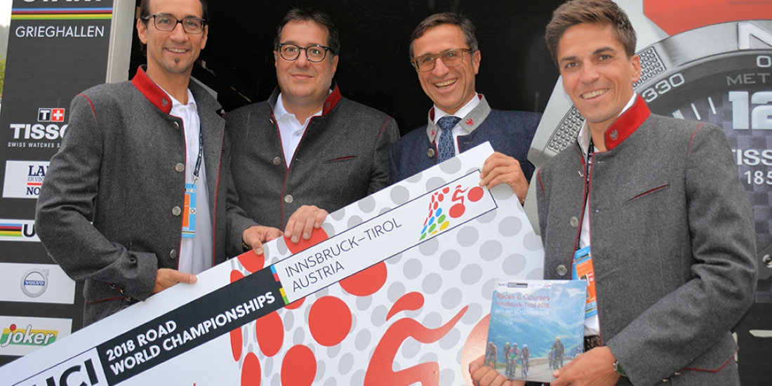 Challenging courses unveiled for 2018 UCI Road World Championships